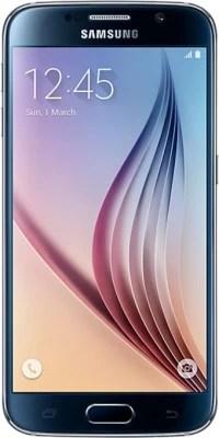 Samsung Galaxy S6 (Black Sapphire, 32 GB)(3 GB RAM)