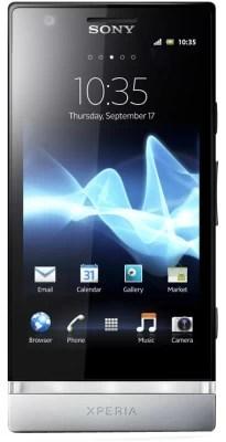 Sony Xperia P (Silver, 16 GB)(1 GB RAM)