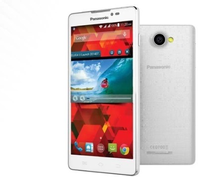 Panasonic T33 (White, 4 GB)(512 MB RAM)