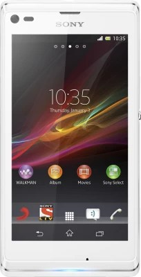Sony Xperia L (Diamond White, 8 GB)(1 GB RAM)