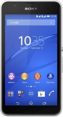 Sony Xperia E4g Dual Sim - White (White, 8 GB)(1 GB RAM)