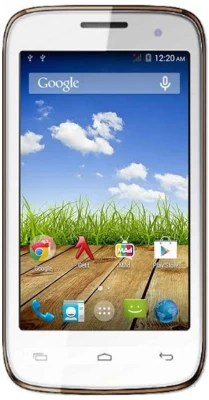 Spice Xlife (White and Champagne, 8 GB)(1 GB RAM)