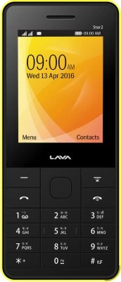 Lava KKT Star 2(Black, Yellow)