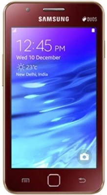 Samsung Z1 (Wine Red, 4096 MB)(768 MB RAM)