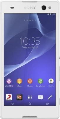 Sony Xperia C3 (Snow White, 8 GB)(1 GB RAM)