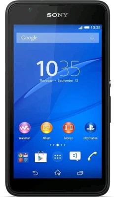 Sony Xperia E4g (Black, 8 GB)(1 GB RAM)