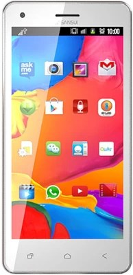 Sansui U55 (White Gold, 8 GB)(1 GB RAM)
