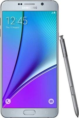 Samsung Galaxy Note 5 64GB Silver (Silver Titanium, 64 GB)(4 GB RAM)