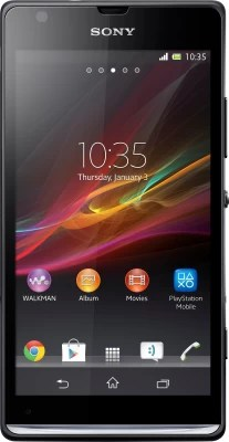 Sony Xperia SP (Black, 8 GB)(1 GB RAM)