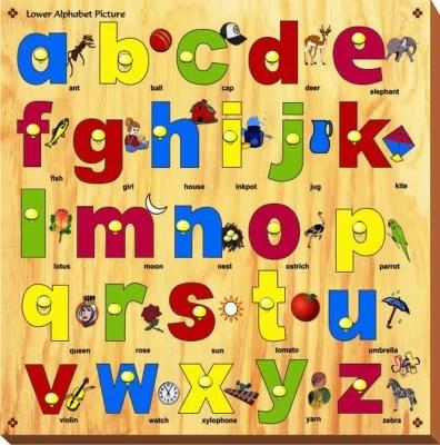 Buy Kinder Creative Capital Amp Lower Alphabet With Knobs52