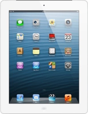 Apple 16GB iPad with Retina Display and Wi-Fi Cellular(White)
