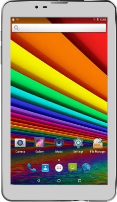 Unic N3 In-built Speaker Tablet with Cover 8 GB 7 inch with Wi-Fi+3G(White)
