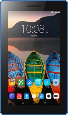 Lenovo TAB3 7 Essential 8 GB 7 inch with Wi-Fi+3G(Ebony Black)