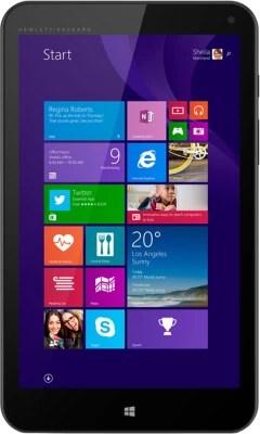 HP Stream 8 Tablet(Black)