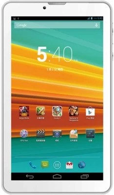 Karbonn 4 GB 7 inch with Wi-Fi+3G(White)