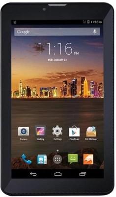 Swipe Slash 2G 4 GB 7 inch with Wi-Fi+2G(Black)