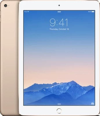 Apple iPad Air 2 128 GB 9.7 inch with Wi-Fi Only(Gold)