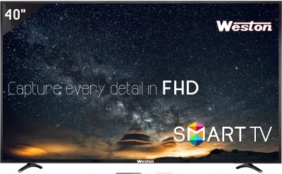 Weston 101cm (40) Full HD LED Smart TV(WEL-4000S)