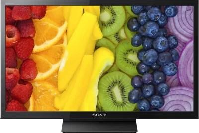 Sony 59.9cm (24) WXGA LED TV(BRAVIA KLV-24P413D)