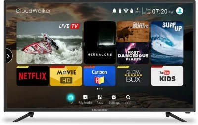 CloudWalker Cloud TV 109cm (43) Full HD LED Smart TV(CLOUD TV 43SF)