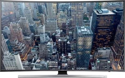 Samsung 139.7cm (55) Ultra HD (4K) Curved LED Smart TV(55JU7500)