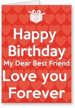 Lolprint Happy Birthday Best Friend Greeting Card Price In India Buy Lolprint Happy Birthday Best Friend Greeting Card Online At Flipkart Com