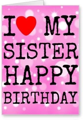 Lolprint I Love My Sister Happy Birthday Greeting Card Price In India Buy Lolprint I Love My Sister Happy Birthday Greeting Card Online At Flipkart Com