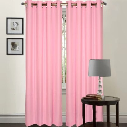 ft cotton window curtain pack