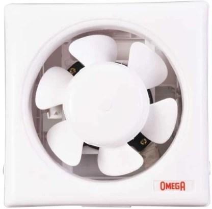 omega ventilation ventec 8 inch 3 blade exhaust fan