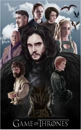 game of thrones poster for wall paper