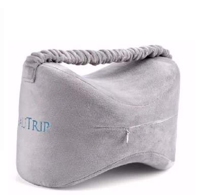 jern sciatica nerve pain relief knee pillow memory foam wedge leg pillow great for pains of hip leg knee back and pregnancy knee support