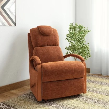La-Z-Boy Harbortown Fabric Manual Rocker Recliners Recliner