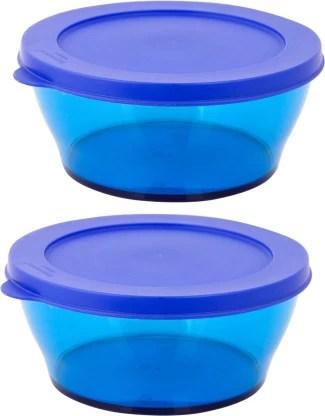 tupperware microwave safe freezer safe pack of 2 each 610 ml pp polypropylene utility box