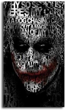 heath ledger poster joker