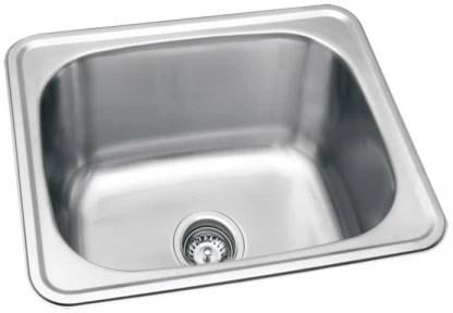 hafele splash kitchen sink 22 x 18 x 9