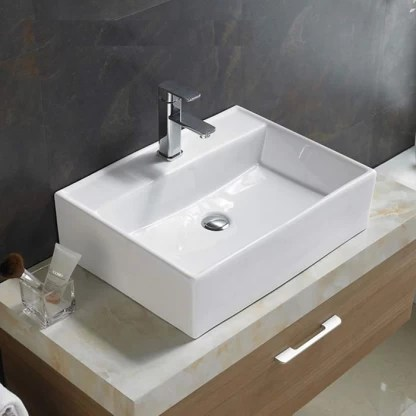 ceramic wall mounted or table top wash