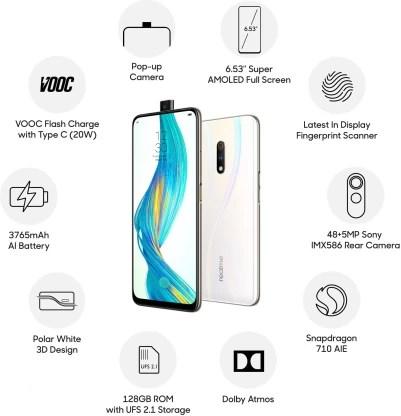 Realme X (Polar White, 128 GB)