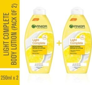 Garnier Skin Naturals Light Lotion Pack of 2
