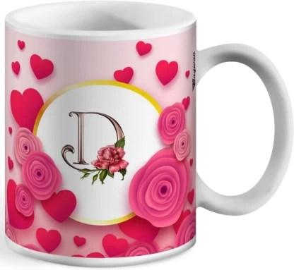 Wagwan Letter D Alphabet Best Gift For Boy Friend Special Birthday Gift For Girlfriend 604 Ceramic Coffee Mug Price In India Buy Wagwan Letter D Alphabet Best Gift For Boy Friend