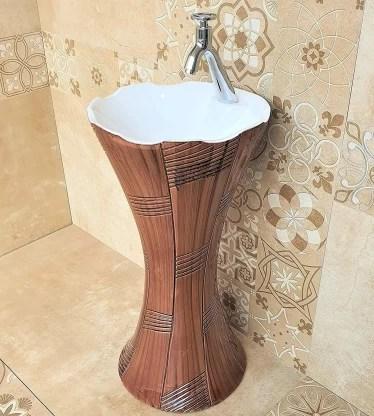 inart pedestal wash basin 119 free