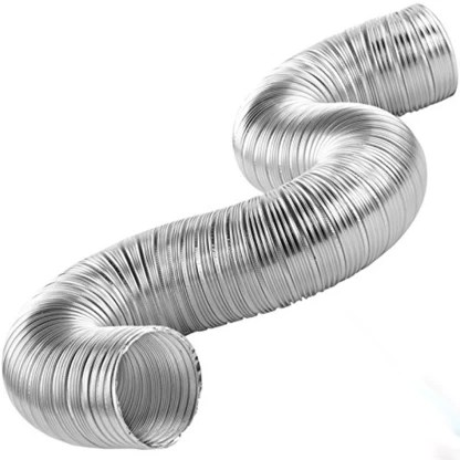 cata 6 inch flexible aluminium duct pipe chimney exhaust pipe with cowl cover 6 inch flexible aluminium duct pipe chimney exhaust pipe with cowl cover