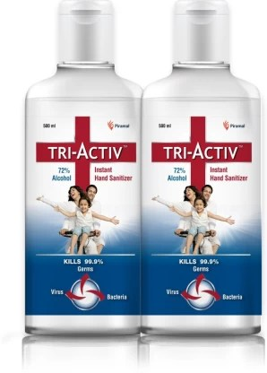 1000 instant hand sanitizer 500ml each pack of 2 bottle tri original imaftdy6gubrsfuy