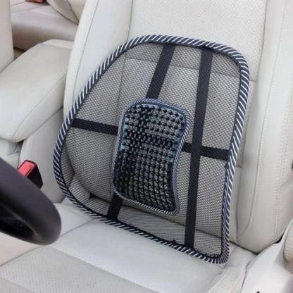 sarthi enterprise universal back support for car seat pillow padcushion and lumbar support black back abdomen support