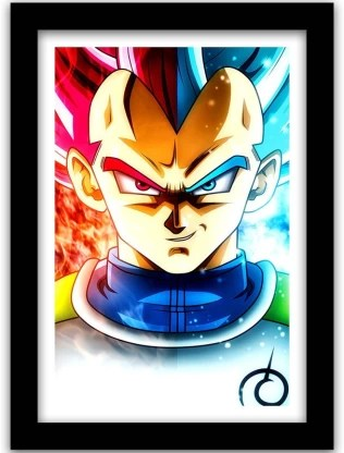 dragon ball z poster with frame