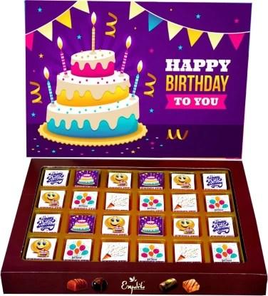 Expelite Happy Birthday Gift For Male Friend 24 Pc Birthday Chocolate Box Bars Price In India Buy Expelite Happy Birthday Gift For Male Friend 24 Pc Birthday Chocolate Box