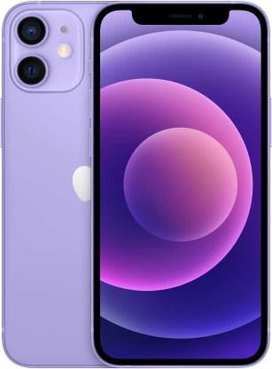 APPLE iPhone 12 Mini (Purple, 64 GB)