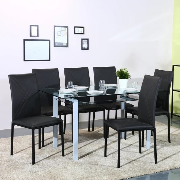 6 Seater Round Dining Tables Sets Buy 6 Seater Rectangle Dining Tables Sets Online At Discounted Prices On Flipkart