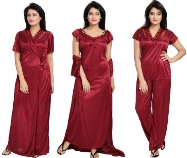 Bluemoon Garments Women Nighty Set