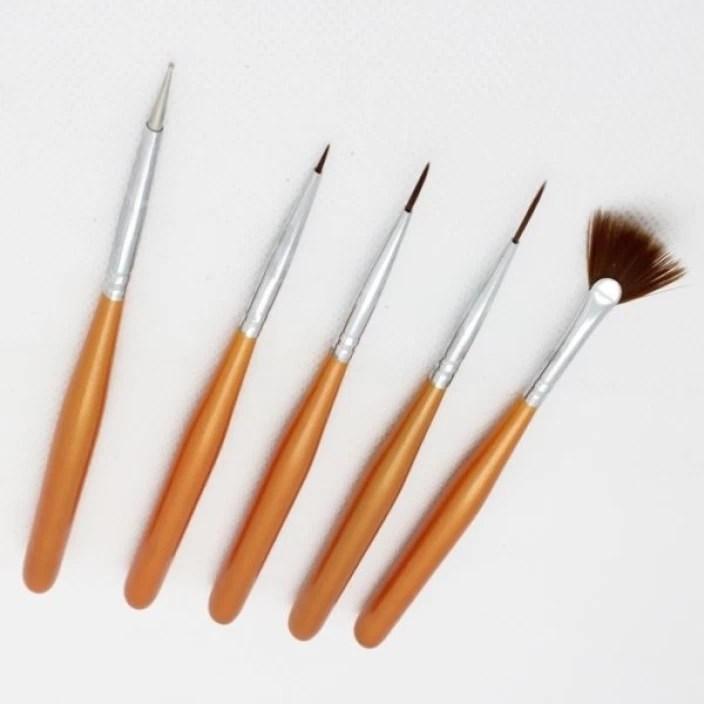Nirus Nail Art Brush Set Nab4