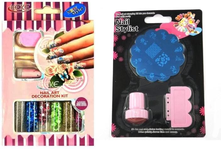 Iris 7 Nail Art Decoration Kit And Sting Bo In